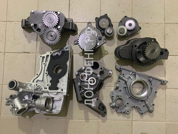 насосы масляные KOMATSU, WEICHAI, КАММИНЗ, IVECO, PACCAR, TECTOR, CNH, CASE, NEW HOLLAND, ISUZU, CATERPILLAR, DEUTZ, PERKINS!!!